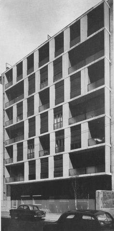 Attilio Mariani - Carlo Perogalli, Via Crivelli, Milan, Italy, 1955