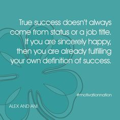 The Definition of Success