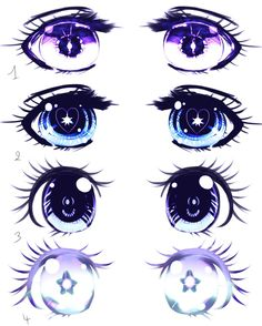 Eyes Shojo manga example by Kirimimi