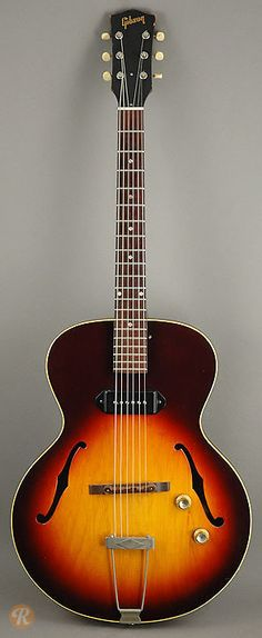 You make better jazz just for owning it. GIBSON ES-125 T 1965 Sunburst | Reverb