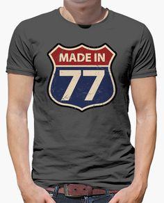 Camiseta Made in 77