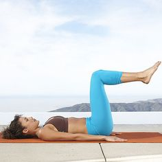 Trim your waist and flatten your belly with this simple and effective ab exercise for beginners. | Health.com