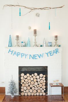 simple new year decorations