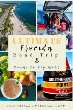 Complete guide to a 72 hour road scenic Florida road trip from Miami to Key West. Everything from where to stay in the fFlorida keys, where to eat delicious food and fFlorida keys activities. Visit Florida, Florida Travel, Florida Keys, Travel Usa, Travel Tips, Travel With Kids, Family Travel, Adventures Abroad, Family Weekend