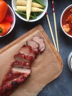 Discover what are Chinese Meat Food Preparation Char Siu, Char Sui Pork, Chinese Spices, Chinese Pork, Chinese Red Pork Recipe, Crispy Seaweed, Garlic Prawns, Chicken Chow Mein, Pork Fillet