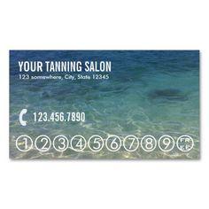 Mobile tanning salon business card tan pinterest business summer beach tanning salon loyalty punch tanning salonsbusiness card colourmoves