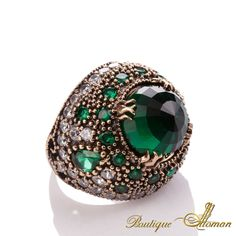 #ottoman Hareem Exclusive Collection Ring HS-0007  #jewelry #ottoman
