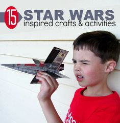 15 Star Wars Inspired Crafts & Activities  - Pinned by @PediaStaff – Please Visit  ht.ly/63sNt for all our pediatric therapy pins