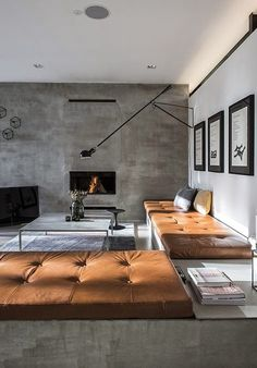 Modern Living Room Grey Walls d65d056b0e5bd1f5c4a4678c4b780f78 | indoors | pinterest | lofts