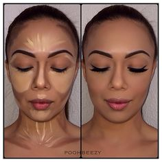 22 best highlight and contour the before and after pics images on