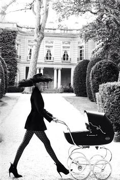 "Natasha Poly in ""Un Air De Famille"" for Vogue Paris, October 2014 Photographed by: Mario Testino"
