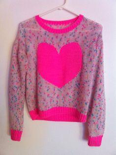 Vintage Heart Sweater