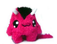 Kawaii Plush: Kawaii Plush Monster Devil stuffed animal Pink Plü...