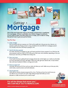 5 quick tips on getting a mortgage