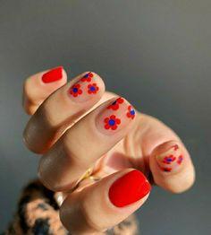 Nail Design Stiletto, Nail Design Glitter, Cute Acrylic Nails, Gel Nails, Funky Nails, Fire Nails, Minimalist Nails, Nagel Gel, Dream Nails