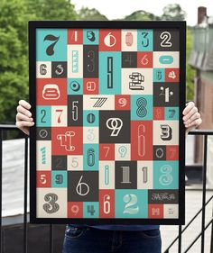 55 Hi's: New Numbers Posters