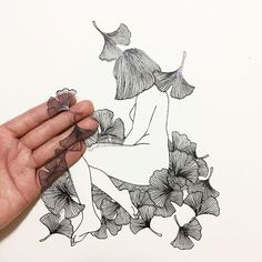 Poetic Illustrations Are Delicately Cut From a Single Sheet of Paper