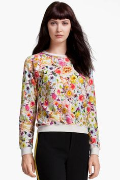 Watch for tons of prints this year for both spring and fall! Loving this adorable sweatshirt!