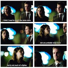 "Arrow - Oliver and Thea ""State vs Queen"" deleted scene #Season2"