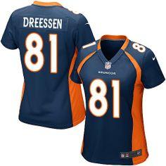 Joel Dreessen Game Jersey-80%OFF Nike Joel Dreessen Game Jersey at Broncos Shop. (Game Nike Women's Joel Dreessen Navy Blue Jersey) Denver Broncos Alternate #81 NFL Easy Returns.