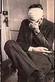 Russell Clark, Dillinger gang member in a Tucson jail 1934