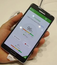 Note 4 has a sensor for SpO2, resulting in key implications for mobile health.