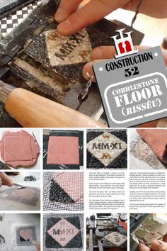 Construction Materials, Mosaic, Miniatures, Flooring, Projects, Mosaics, Mini Things, Hardwood Floor, Mockup