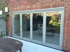 Ral 7032 (Pebble grey) for aluminium bi fold doors