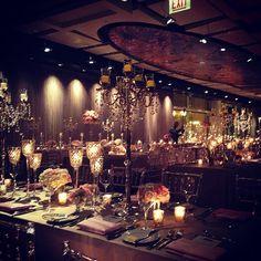 Room shot at tonight's wedding @juliettanfloral @jennyyoochicago #loveislivenitup