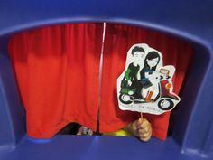 Show time:  starring Sam and Sofia.  #LittlePassports