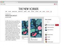Botón de Pinterest para el navegador para Chrome    Guarda ideas de la Web con un solo clic