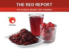 Research has linked tart cherries to anti-inflammatory benefits, reduced pain from gout and arthritis and an extensive list of heart health benefits. Recent studies even suggest tart cherries can help reduce post-exercise muscle and joint pain. Healthy Foods To Eat, Get Healthy, Tart Cherry Juice Concentrate, Tart Cherries, Cherry Tart, Incredible Edibles, Summer Fruit, Health And Beauty Tips, Fruits And Veggies
