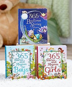 Share a story with your little one every day of the year with this 365 Stories and Rhymes Treasury Book in their library. Enjoy a different story each day of the year with this beautifully illustrated compilation