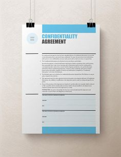 Non Disclosure Agreement Template  Nda  All Form Templates  Non