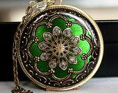 Green locket