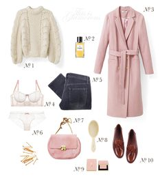 Fashion & Shopping -- At the Shops: Pretty things for Bright Winter Days -- belted pink coats and golden-bristled hairbrushes & more