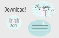 Free printable | photo album