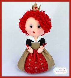 The Red Queen feltie