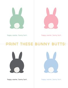 Happy Easter! Grab Yourself a Bunny Butt!