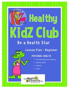 """This  lesson provides students with an introduction to the healthy habits of eating healthy meals, getting the recommended amount of sleep, germ prevention, and annual visits to the doctor.Health Standards Content Areas: Personal Health - Goal Setting/Decision Making, Healthy Habits, Hygiene, SleepThis lesson utilizes an independent resource, the book: """"Oh the Things You Can Do That Are Good For You! : All About Staying Healthy"""", by Tish Rabe.Students will use a tracking tool that…"""