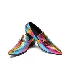Snack leather formal shoes for real Man Bonded Leather, Cow Leather, Leather Shoes, Rainbow Shoes, Formal Shoes, Toe Shape, Gay Pride, Business Fashion, Types Of Shoes