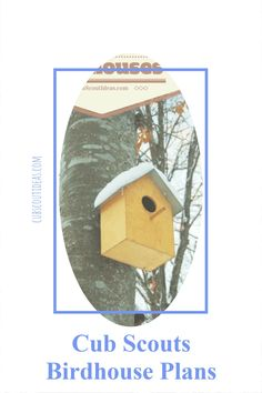 Cub Scout birdhouse plans! Learn how to make the perfect birdhouse. Click the link for more details. #CubScouts #CubScoutIdeas #BirdHouse #CubScoutBirdHouse Cub Scout Games, Cub Scout Activities, Fun Activities For Kids, Cub Scouts, Fun Games, Scout Leader, Team Leader, A Team, Pack Meeting