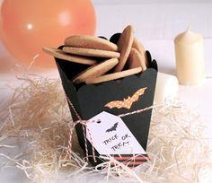 Cajita para galletas y caramelos de Halloween