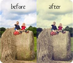 Make photos look vintage and other tutorials & actions