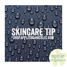 SKINCARE TIP: Almost all products, except Retinol, should be applied to damp skin. The products are absorbed better and you use less. #TheMoreYouKnow #Tips #AnAppleADay #OrganicSkincare #AllNatural #Vegan #CrueltyFree #Beauty #SkinCare #SmallBatch #GreenBeauty #ecoSkincare #ShopSmall #GreenvilleSC #yeahTHATgreenville #HaveABeautifulDay #BeautifulSkinStartsHere #AppleOrganics