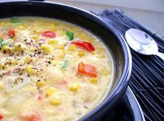 Southwest Chicken Corn Chowder Recipe