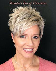 Funky Short Hair, Short Choppy Hair, Short Hair Cuts For Women, Short Messy Haircuts, Cute Hairstyles For Short Hair, Blonde Pixie Hair, Hot Hair Styles, Blunt Cuts, Grey Hair