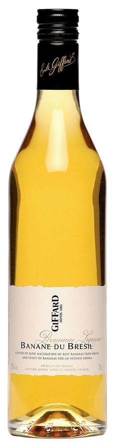 GIFFARD Premium Liqueur - Banane du Brésil    70 cl - 25%