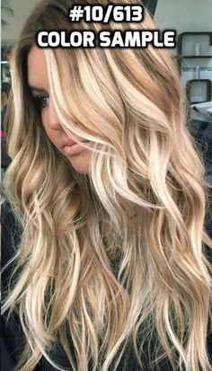 Human Hair Flip-in(HALO) extension Hand-made Ash Blonde Mix Blonde Hair Shades, Light Blonde Hair, Blonde Hair With Highlights, Brown Blonde Hair, Platinum Highlights, Blonde Honey, Medium Blonde, Medium Hair, Balayage Hair