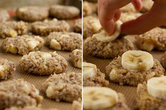 Banana Bread Breakfast Cookies via @Leanne Vogel // use #quinoa instead of oats in cookies! #banana #bananabread